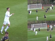 Llorente logró el gol de la victoria. YouTube/LeedsUnitedOfficial