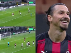 Ibra, hero and villain. Screenshots/MovistarLigadeCampeones