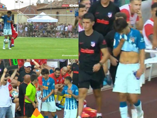 Joao Felix's Atletico Madrid debut cut short by injury. Screenshot/GOL