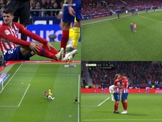 Infortunio di Morata e goal di Griezmann. Capturas/beINSports
