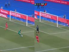L'erreur de Mané que le Sénégal pourrait payer cher. Capture/Eurosport
