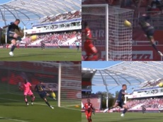 Un but impressionnant signé Cardona. Captures/Ligue1