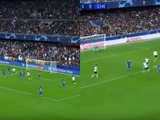 Soler and Kovacic scored quick goals at the Mestalla. Captura/Movistar