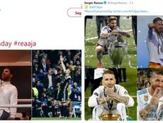 El Ajax troleó al Madrid y Ramos contestó. AFCAjax/SergioRamos