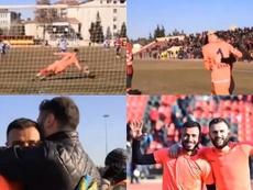 El penalti más largo y épico. Capturas/Twitter