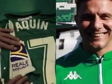 Joaquin prolonge avec le Betis. Capture/RealBetis