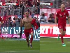 Robben e Ribery salutano con un gol. FOXSports
