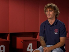 Interview exclusive de Griezmann aux médias du Barça. FCBarcelona