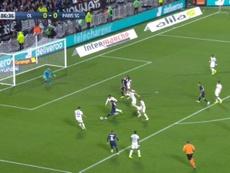 Neymar délivre encore le PSG a la 86e minute contre Lyon. Capture/Canal+