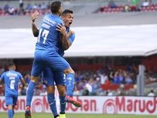 Caraglio, con dos goles, fue el mejor del partido. CruzAzul