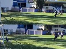 Cardona se estrenó como goleador de Pachuca. Twitter/Pachuca