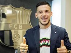 Carles Pérez, renovado até 2022. FCBarcelona