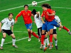 Del Bosque explained Puyol's header. EFE