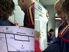 Comment Puyol expliquait le but qui a conduit l'Espagne en finale. Captura/AmazonPrimeVideo