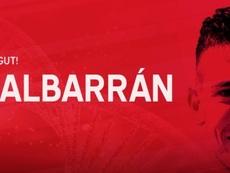 Albarrán llega del Badalona. Twitter/NASTICTARRAGONA