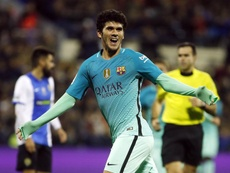 La joya del Barça sufrió una lesión en el último partido. FCBarcelona