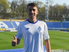 El uruguayo se compromete hasta junio. DynamoKyiv