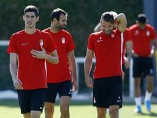 Carlos Fernández podrá debutar con el Granada frente al Sevilla. GranadaCF