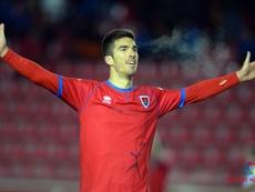 Carlos Gutiérrez no estará disponible para la próxima jornada. LaLiga/Archivo