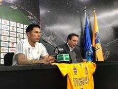 Salcedo dice que Ferretti no le garantiza la titularidad con Tigres. TigresOficial
