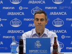 Carmelo del Pozo comentó el final del mercado. Twitter/RCDeportivo
