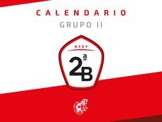 Este es el calendario del Grupo II de Segunda División B 2019-20. RFEF
