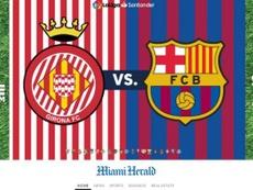 Miami Herald' Girona-Barça. MiamiHerald
