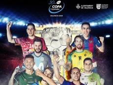 La Copa de España se disputará en Valencia del 28 de febrero al 3 de marzo. LNFS