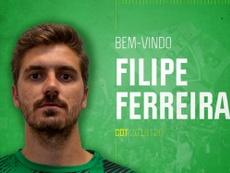 Filipe Ferreira llega al Tondela. CDTondela1933