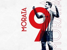 Morata será o novo '9' do Atlético. Atleti