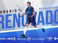 Canario renovó por el Atlético Baleares. AtleticBalears