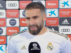 Carvajal a analysé la victoire de son équipe. Capture/Movistar