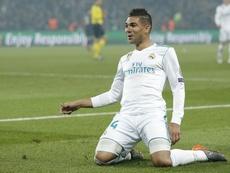 El centrocampista sufrió una lesión durante el partido ante el Atlético. EFE