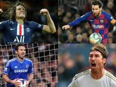 El reto del futbolista imposible: ¿quién jugó con pero no con...? AFP