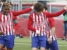 Griezmann sent Roro a message. AtleticodeMadrid/Alberto Molina