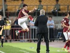 Naturalizado, Aloisio é convocado para a seleção chinesa. HebeiFortune