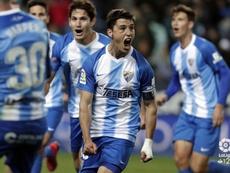 Ricca anotó el 0-1 en Zaragoza. LaLiga