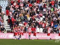 El Almería disputó un amistoso ante el Ufa. LaLiga