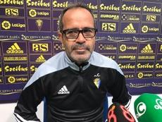 Cervera analizó al próximo rival. CádizCF