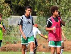 El futbolista es un fijo en las categorías inferiores de Marruecos. Twitter/Mallorca