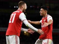 Sigue en directo la EFL Cup. Twitter/Arsenal