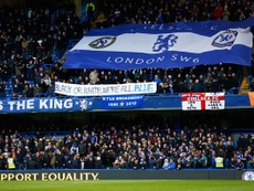 Chelsea have pledged to deal with fans guilty of anti-Semitic chanting on Thursday. AFP