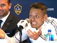 El futbolista ya fue presentado con su nuevo equipo. Captura/LAGalaxy