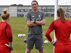 Le 'derby de la Mersey' féminin va se jouer à Anfield. Twitter/LiverpoolWomenFC