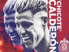 Christian Calderón firma con Chivas. Chivas