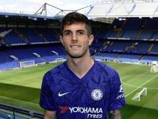 Pulisic se comparó con Hazard. ChelseaFC