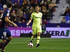 Chumi fue alineado de forma indebida. FCBarcelona