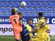 Cifuentes hizo historia ante la SD Huesca. LaLiga
