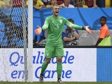 OFICIAL: Cillessen ya es jugador del Valencia. AFP