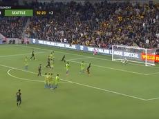 Los Angeles FC venció por la mínima a Seattle. Captura/MLS